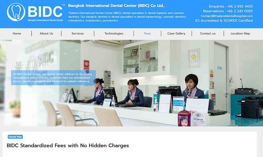 Thailand International Dental Center - leading dental cosmetic clinics